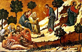 Nuestro Señor en el Huerto de los Olivos