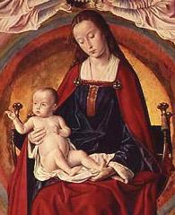 Virgen y el Niño Maitre de Moulins