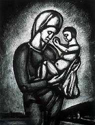 Virgen de Rouault