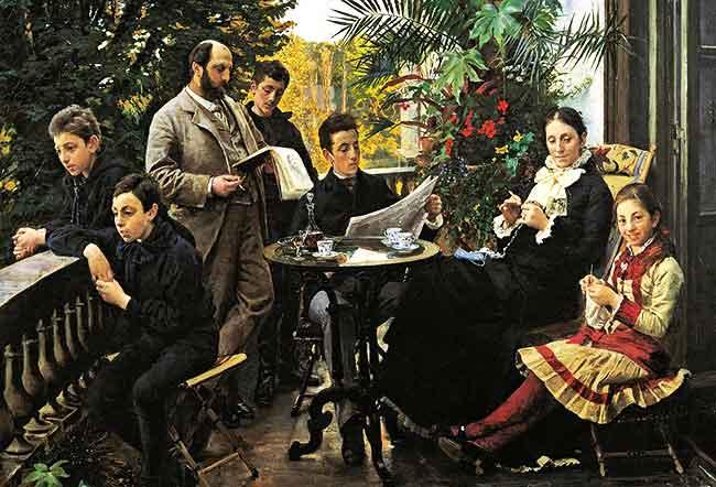 En la familia patriarcal se da un enriquecimiento de las personalidades