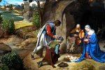 Adoración de los pastores en Belén