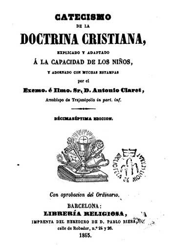 Catecismo de San Antonio María Claret