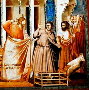 Jesús nos enseñó la energía y combatividad contra el mal