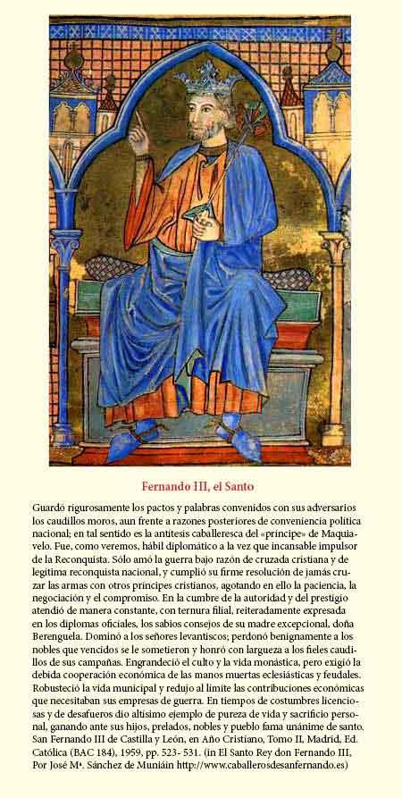 El Rey Fernando III de España