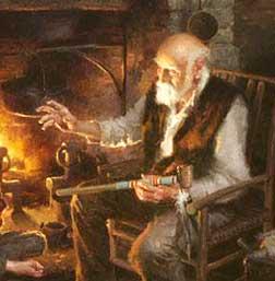 Los abuelos son un vínculo con nuestros mayores y nos hacen vivir tiempos antiguos