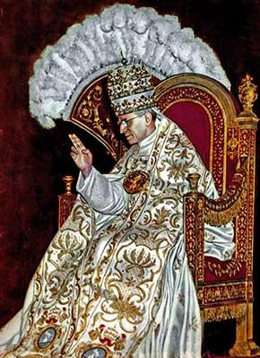 El Papa Pío XII