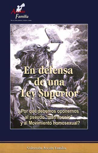 """libro gratuito """"En defensa de una Ley Superior"""""""