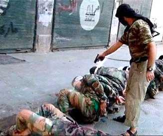 Un musulmán asesina a sangre fría a hombres indefensos