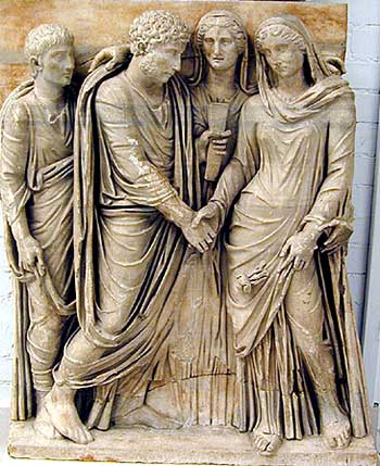 El matrimonio en la cultura romana
