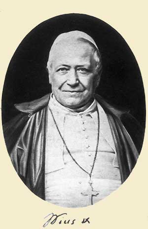 Pío IX de liberal a contra-revolucionario
