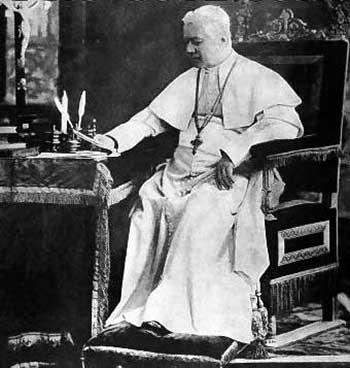 San Pío X denunció a los enemigos de la Iglesia que trabajaban en su interior