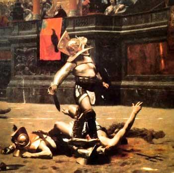 La crueldad de los paganos romanos  ha vuelto a nuestra sociedad