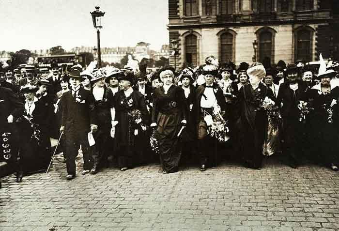 Las suffragettes precursoras del feminismo contemporáneo