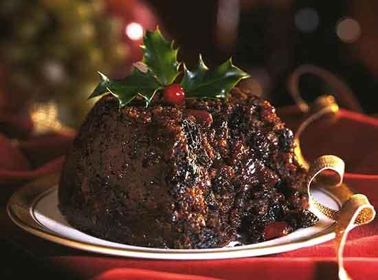Christmas  pudding  bollo de Navidad de los ingleses