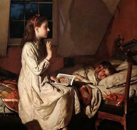 narraciones de historias en la sana distensión doméstica, pura e inocente.