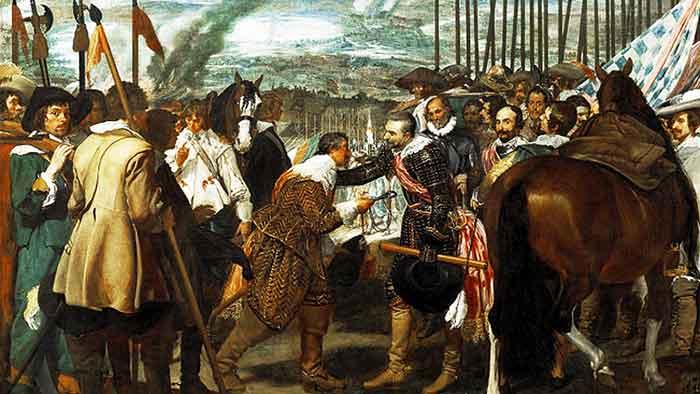 La Rendición de Breda, cuadro de Velázquez, muestra que la cortesía puede usarse con los vencidos.