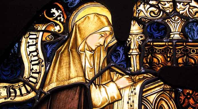 Santa Hildegarda von Bingen, Doctora de la Iglesia, comenta el pecado de la homosexualidad basándose en el Apocalipsis