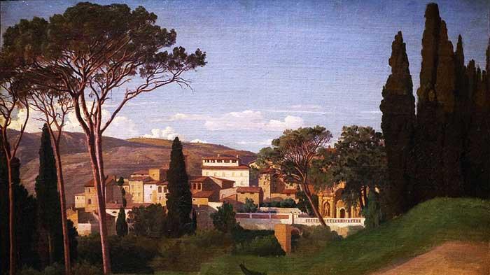 Villa de campo de un romano rico. Se puede apreciar el lujo y la riqueza de la construcción