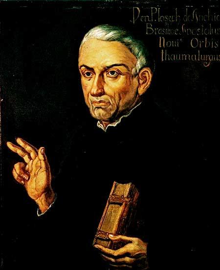 San José de Anchieta, un ejemplo de un verdadero misionero entre los indios