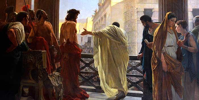 El hombre relativista actual, cual nuevo romano decadente, se pregunta ¿qué es la verdad?