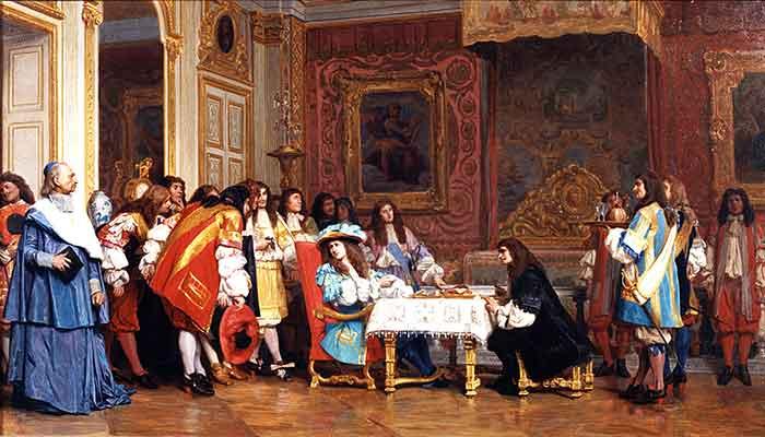 El estilo de Luis XIV es el de la alegría triunfante