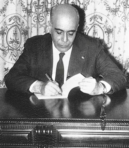 Plinio Corrêa de Oliveira en los años '60