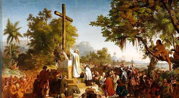 La evangelización de los indios en la Iglesia