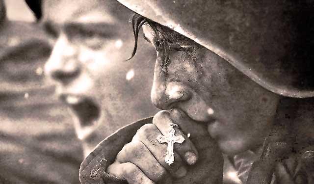 Soldados durante la II Guerra Mundial