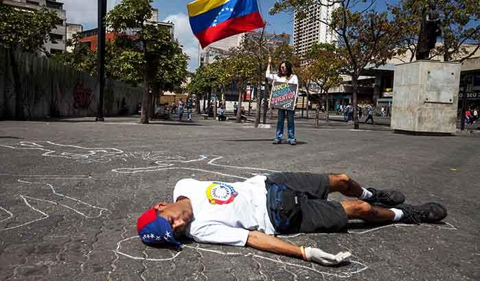 Asesinados en Venezuela por las milicias chavistas