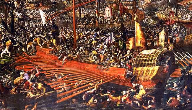 La batalla naval de Lepanto aplastó el poder del Islam