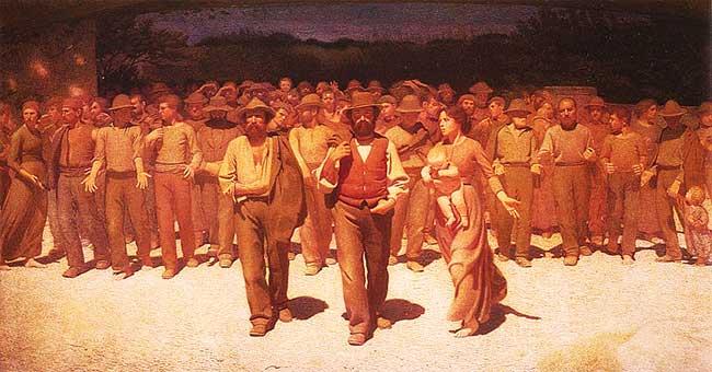 Para el P. Gutiérrez la lucha de clases es el motor de la Historia