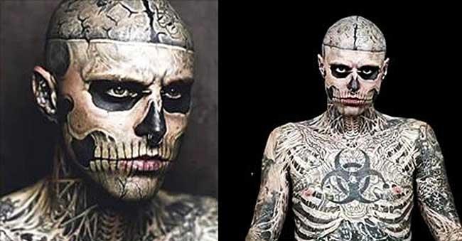 El tatuaje busca lo horroroso