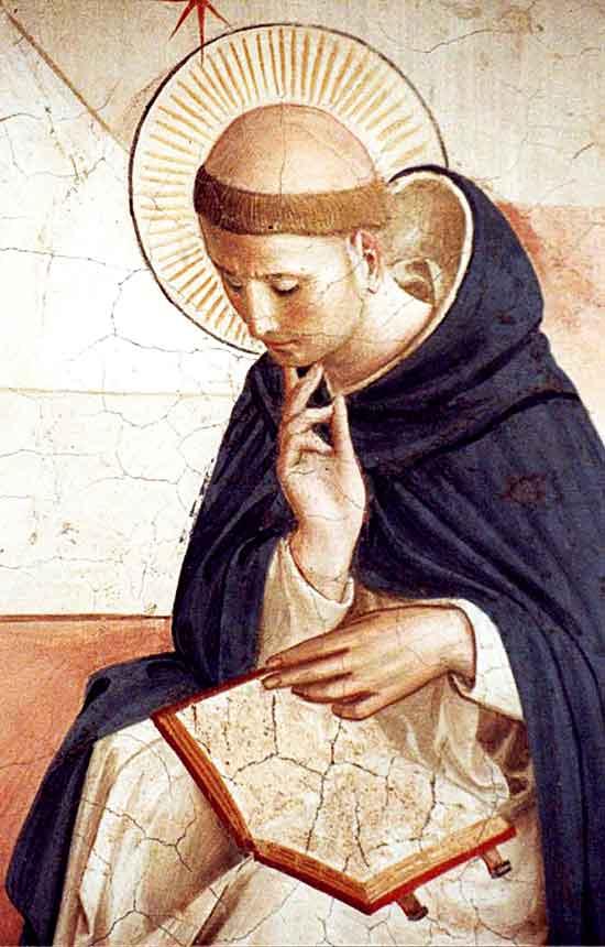 Santo Domingo meditando