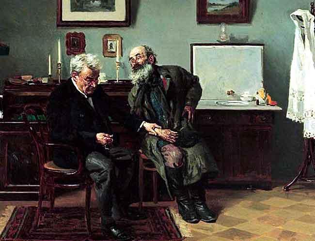 La consulta al psiquíatra