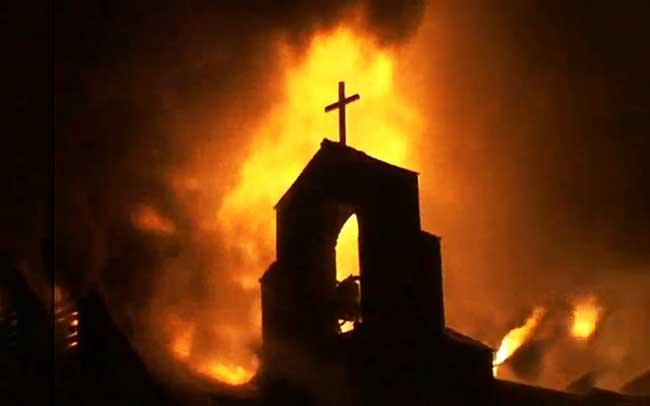 Presenciamos una guerra a la religión católica