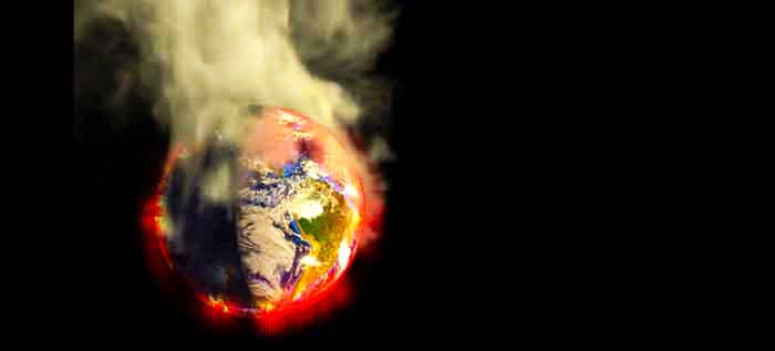 El cambio climático o calentamiento global visto por los ecologistas
