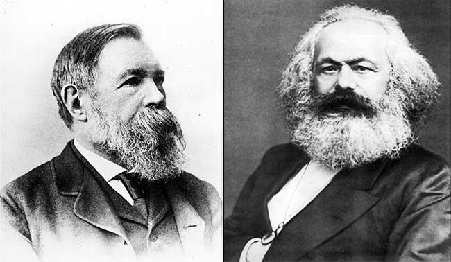 La utopía de Marx se va instalando en todas las instituciones de nuestro pais