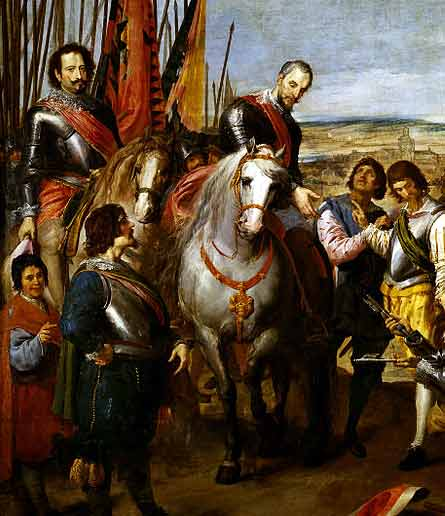 El Duque de Parma, Alejandro Farnesio