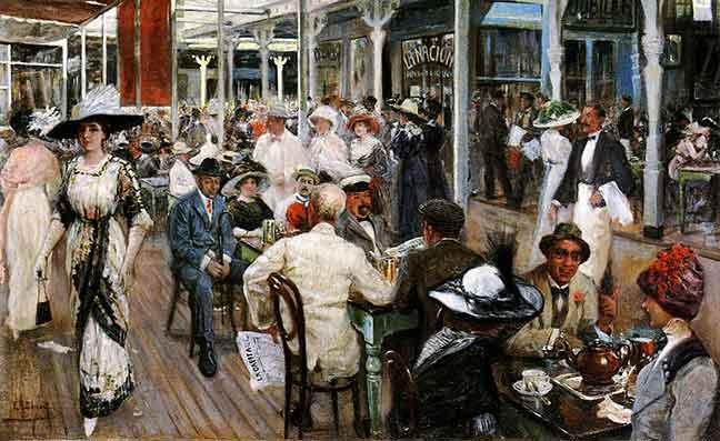 La desprecupación de la Belle Époque antes de la I Guerra Mundial