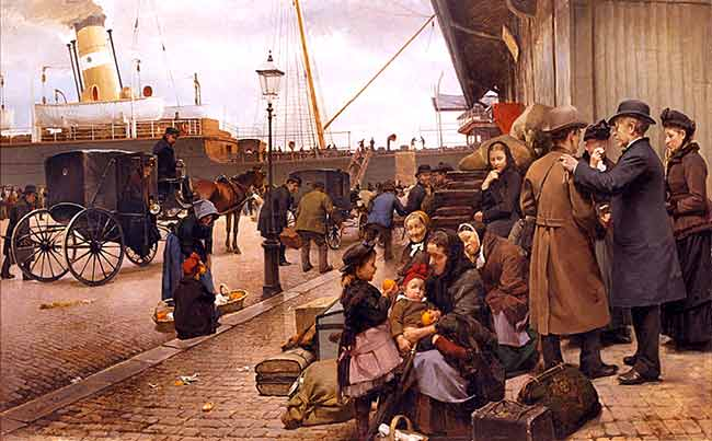 Edvard Petersen migrantes