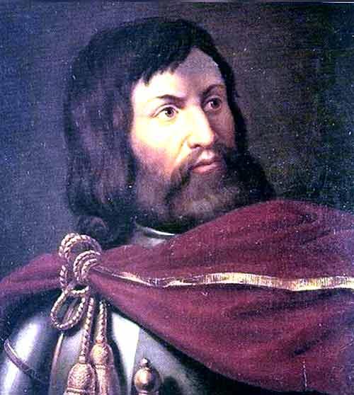 Simón de Montfort cruzado contra los herejes albigenses