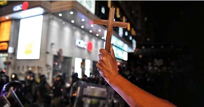 Protestas en Hong Kong contra el gobierno de Pekin
