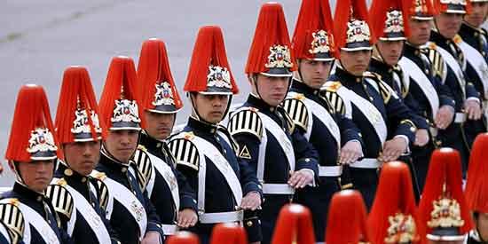 En las Fiestas Patrias, un homenaje al Ejército chileno