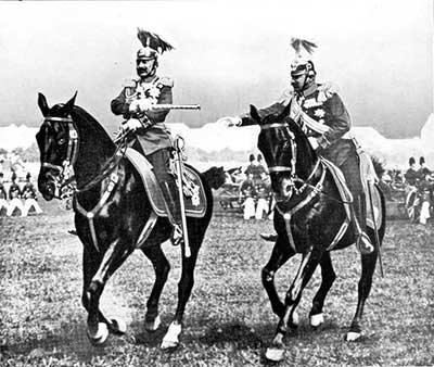 Guillermo II un auténtico militar