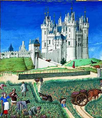 Les Belles Heures de Jean de Berry) es un libro de horas iluminado del siglo XV que encargó el duque Juan I de Berry.