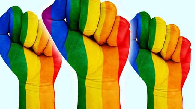 LGBT y el símbolo comunista