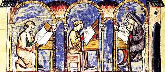 Mitos sobre La Edad Media: el analfabetismo