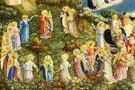 Juicio final según Fra Angélico (detalle)