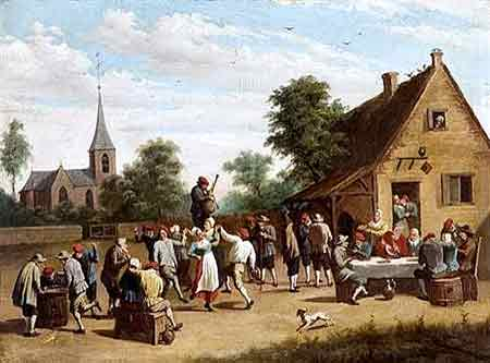 Matrimonio de campesinos en Francia