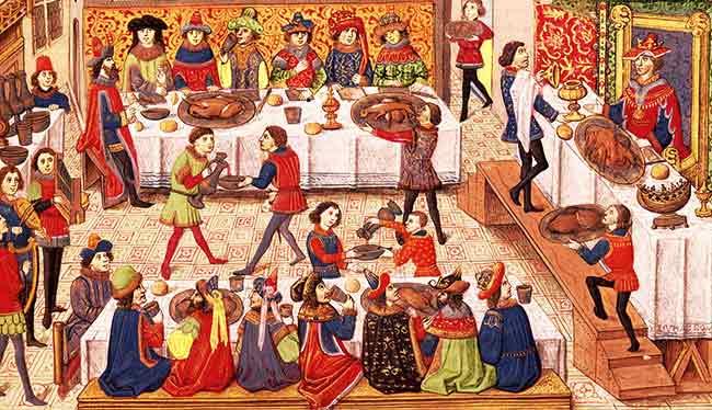 Un banquete renancimiento